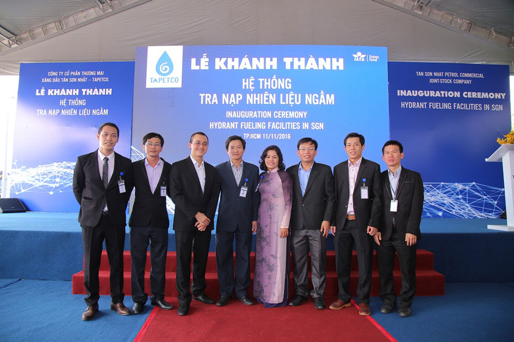 Inauguration Ceremony of Hydrant Fuelling Facilities in SGN